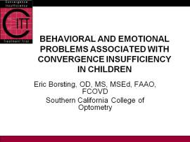 Behavioral and Emotional problems with CI